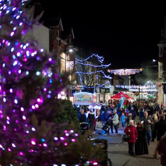 Christmas Lights Switch On & Late Night Shopping