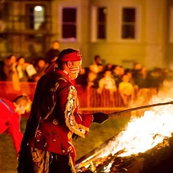 Littlehampton Bonfire Society Celebrations