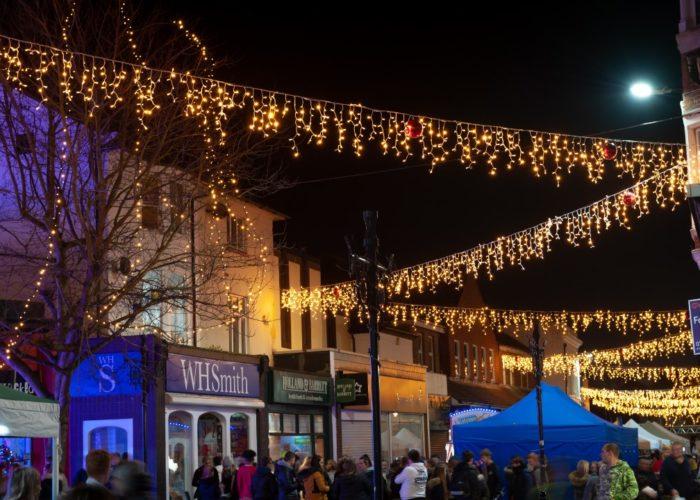 Littlehampton  Christmas Light Switch On