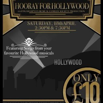 "*POSTPONED* ""Hooray for Hollywood"" by the Littlehampton Musical Comedy Society"
