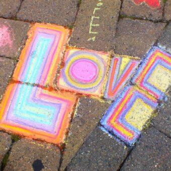 Love Local Arts – The Chalk Experience, LOCA