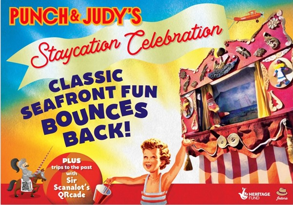 Love Local Arts – Punch and Judy's STAYCATION CELEBRATION