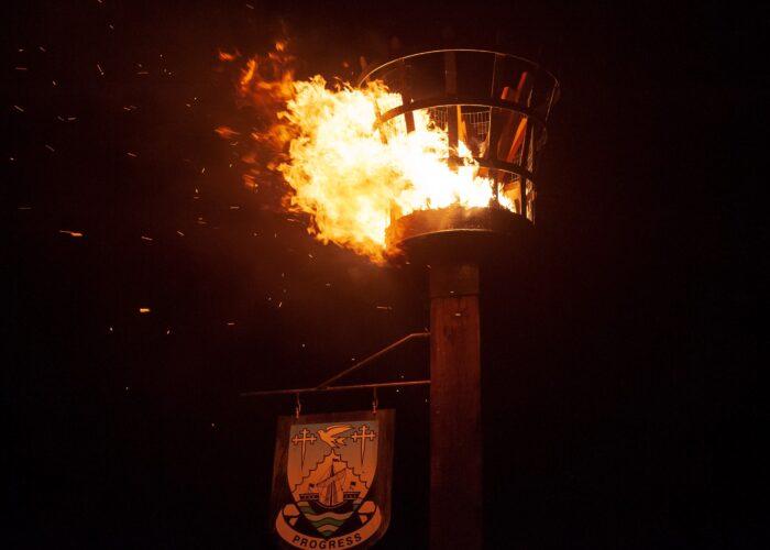 Royal British Legion Centenary Beacon Lighting